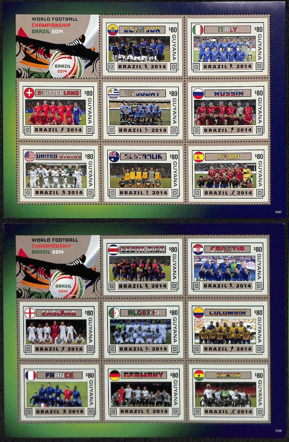 2014 - 37 WORLD FOOTBALL CHAMPIONSHIP-1