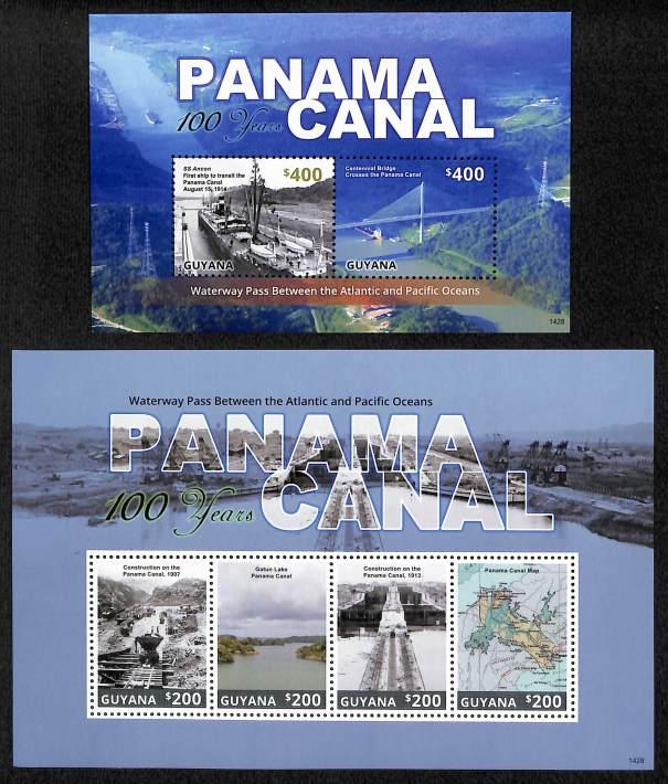 PANAMA CANAL ANNIVERSARY - 1428